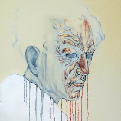 D'après Onchi Koshiro, Portrait de Hagiwara Sakutaro