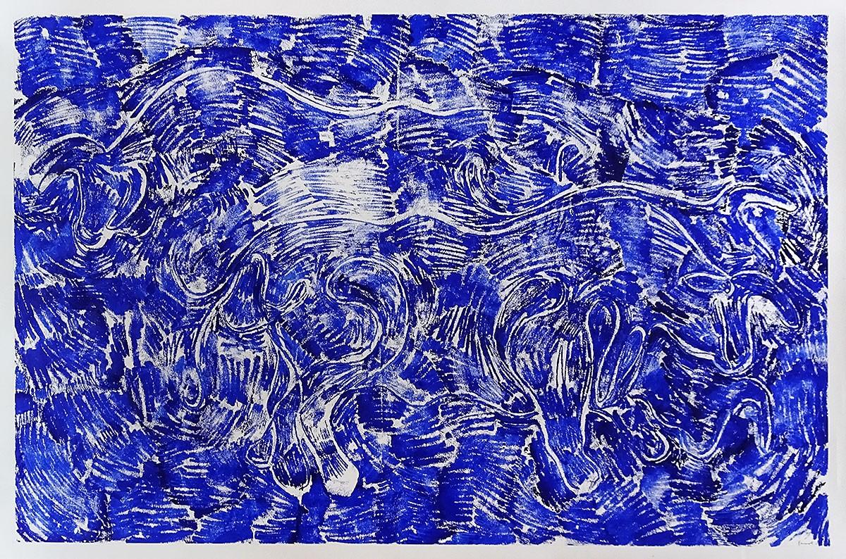 Oviglyphe 17, Les Taureaux Bleus